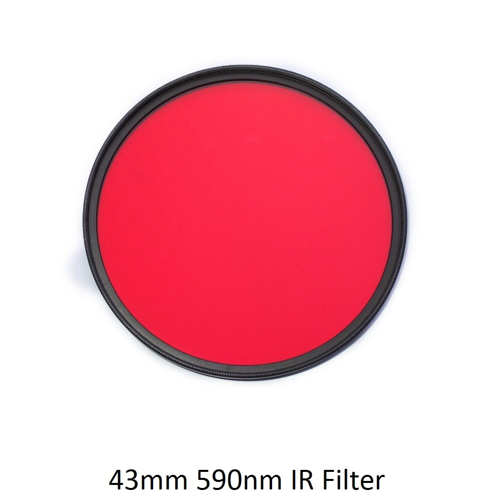 IR Filter 72mm 590nm R59 Infrared Optical Grade Filter for Camera Lens