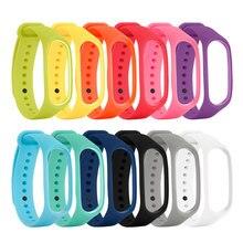 Mi band 4 Handgelenk Gurt Für Xiao mi mi Band 4 Silikon Smart Uhr Armband Armband Ersatz xio mi xao mi band4 mi band4 Zubehör