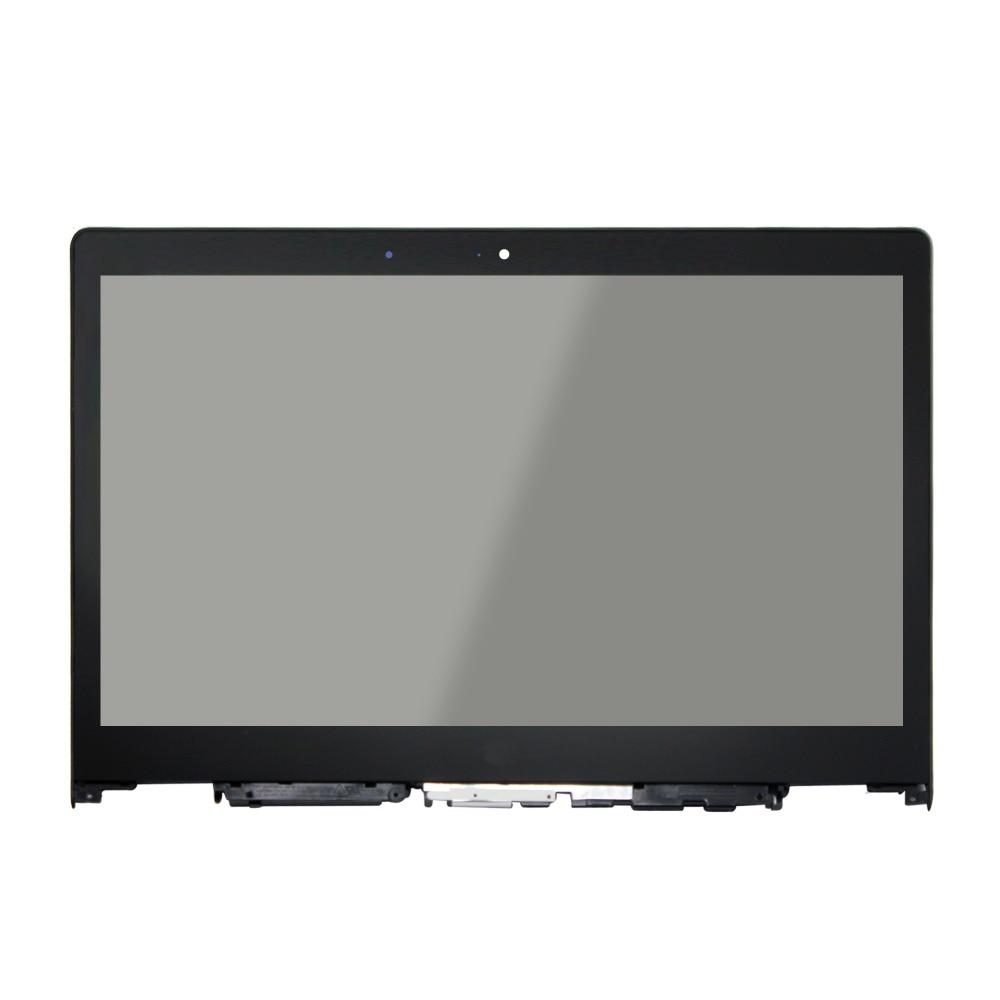 80JH000TUS 80JH000PUS 80JH00FLUS 80JH00LQUS 80JH000VUS para LENOVO YOGA 3 14 LCD portátil de montaje de pantalla táctil digitalizador + bisel