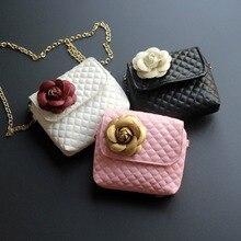 Cute Baby Mini Coin Purse Kids Small Zero Wallet Pouch Handbag Girls Princess Flower Crossbody Bags Money Change Purse Gift