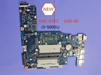 free shipping new aclu3 aclu4 uma nm a362 rev1 0 mainboard for lenovo g50 80 notebook motherboard with i3 5005u cpu
