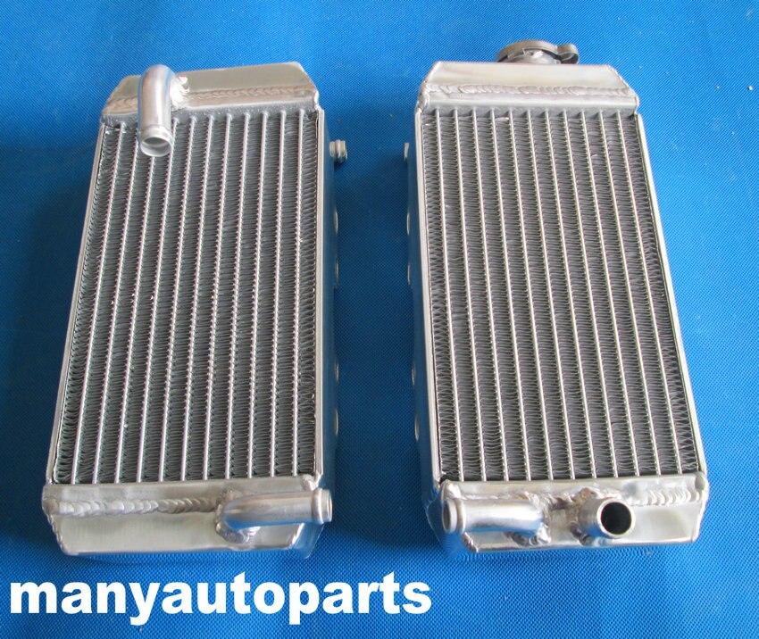 Radiador de alumínio Para Honda CRF150R CRF150 2007-2013 2013 2012 2011 2010 09 08 07