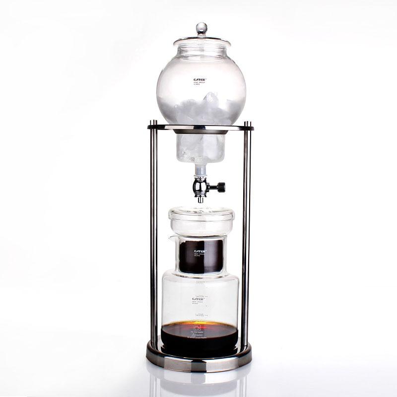 Clássico Frio Brew Café Ice Coffee Maker Espresso Gotejamento Pote 600ml