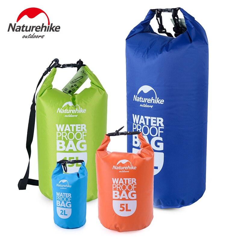 Naturehike bolsa a la deriva bolsa seca impermeable para Canoa Kayak Rafting deportes flotantes bolsas de almacenamiento plegables Kits de viaje