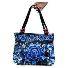Fleurs ethniques Boho Hobo broderie sacs brodés dames femmes sac à bandoulière sac à main femmes marque sacs de luxe Logo