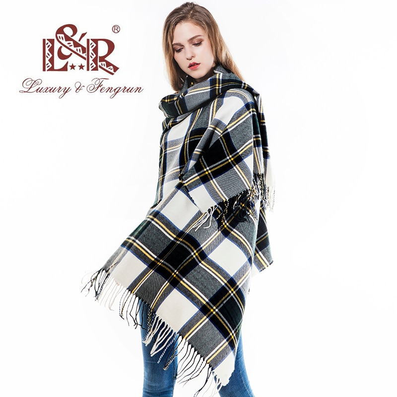 2018 foulard femme scarf winter women scarf striped female cashmere scarves shawls luxury brand neck pashmina lady wrap excharpe 2021 knitted spring winter women scarf plaid warm cashmere scarves shawls luxury brand neck bandana pashmina lady wrap