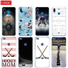 Coque Silicone pour Huawei P20 P7 P8 P9 P10 Lite Plus Pro 2017 p smart 2018 patinoire sport maman