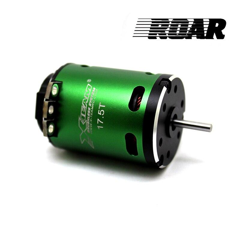 FATJAY X-XTEM 540Y RC 540 brushless motor sensored 3.5 T 4.5 T 5.5 T 6.5 T 7.5 T 8.5 T 10.5 T 11.5 T 13.5 T 17.5 T 21.5 T para 1/10 de carro