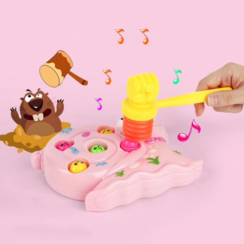 15cm silbato de niño entrenamiento para niños pequeños bebé niños mango plástico duradero construido en silbato niño juguetes martillo ruido fabricante