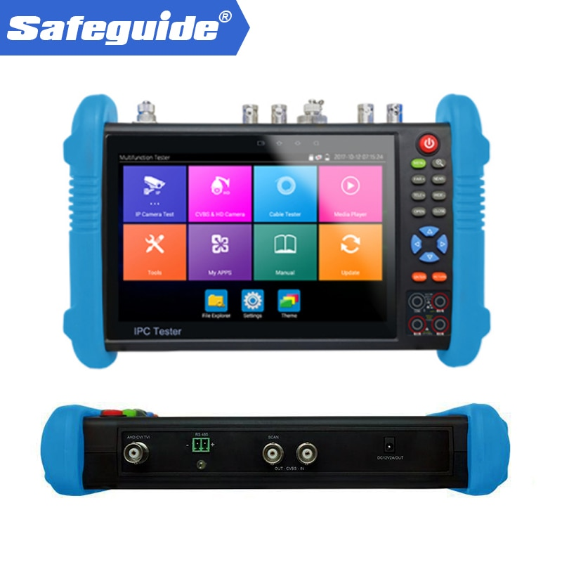 hot new products multi-function cctv tester 5MP 4MP AHD TVI CVI Camera tester for IPC-9800MOVTADHS Plus Built in WIFI, enlarge