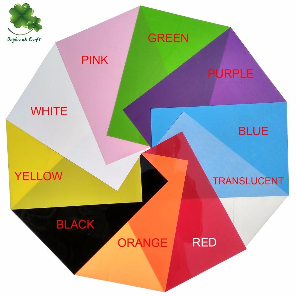(50 шт./лот) 10 видов цветов микс DIY магические усадки пластиковый лист/креативные материалы для рисования термоусадочные пленки полированные