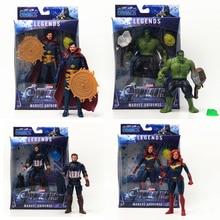 Marvel Avengers Endgame Super Hero Hulk Doctor Strange Thanos Hulk Captain America Display Model Colletion Toy Marvel Toys Gift