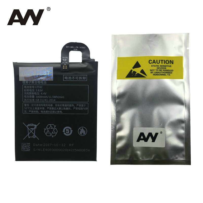 AVY LT55C Battery For Letv Le 1S X500 X501 Le1 S Mobile phone Rechargeable Replacement Li-polymer Batteries 3000mAh enlarge