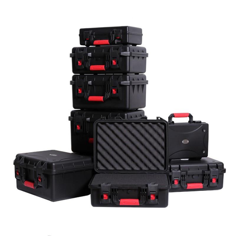Multifunction Protective safety box Toolbox Moisture-proof box Waterproof box Equipment Instrument box Shockproof sponge