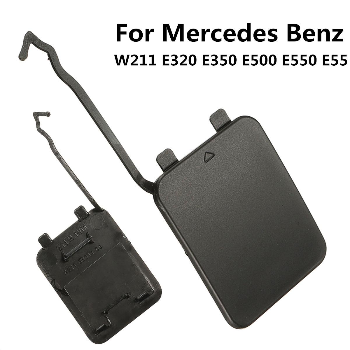 Крышка крюка заднего бампера для Mercedes-Benz W211 E55 E550 E500 E350 E320