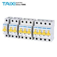 10KA MCB L7-63 Small Miniature Circuit Breakers 1P 2Pole 3P 4P 10000A Breaking Customized DC 1000V 750V 20A 40A 60A