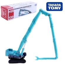 TOMICA KOBELCO, maquinaria de construcción, máquina de demolición de edificios, SK3500D 1/228 No.130, Takara TomY diecast, modelo de juguete popular