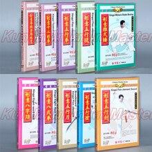 Xingyi-jeu de boxe à huit formes   Kung Fu, enseignement des sous-titers vidéo anglais, 10 DVD