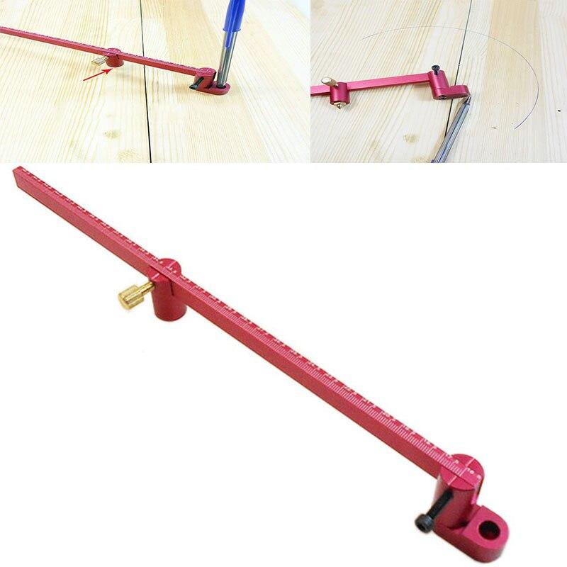 316.5mm linia prosta do obróbki drewna łuk krzywa Scriber dwufunkcyjny scribe równoległa linia do rysowania wielofunkcyjne narzędzie do znakowania