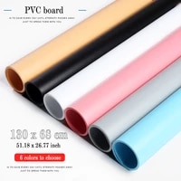 130x68cm colorful matte effect pvc photography board ins backdrops decoration for photo studio waterproof dustproof background