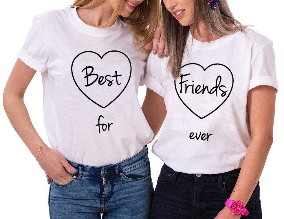 Camiseta Skuggnas Best Friends forever, ropa Bff, el mejor regalo para Amiga, camiseta de manga corta 90s, ropa estética BFF, triangulación de envíos