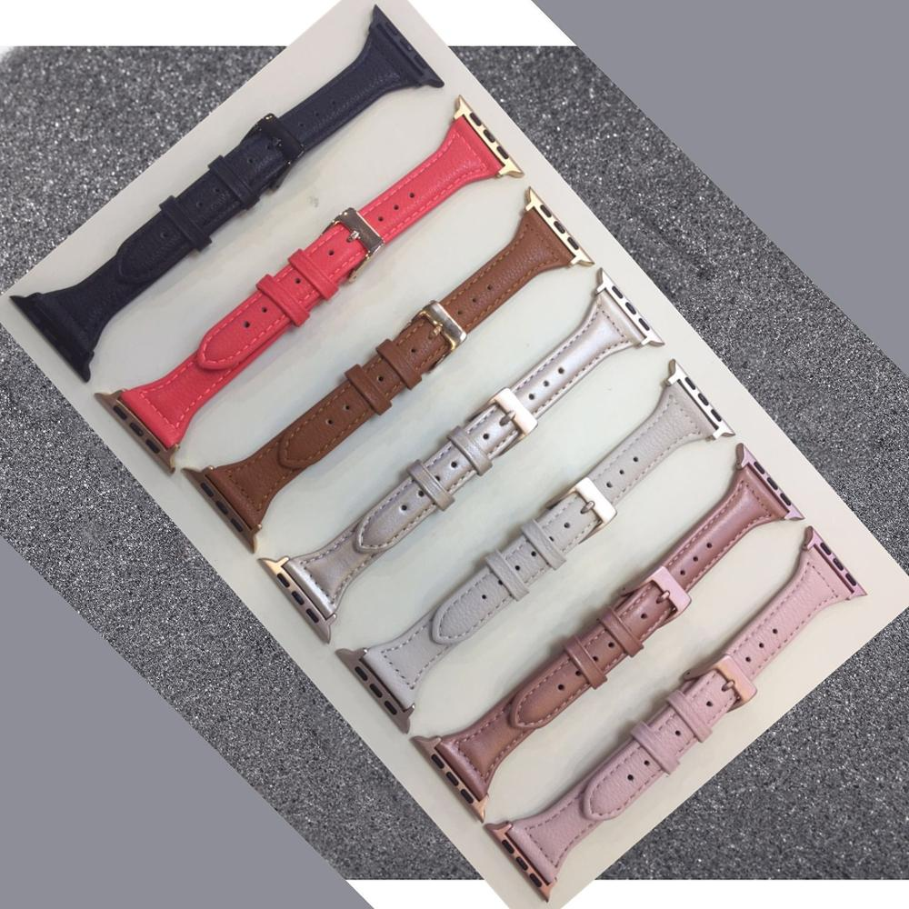 38 40mm 42 44mm plaid watch band for apple watch series 1 2 3 4 leather fabric wrist strap for iwatch belt replacement i343 Leather Band For Apple Watch 38mm 40mm 42mm 44mm,Apple Watch band Replacement Strap Wristband for iWatch Bracelet Series 4 3 2 1