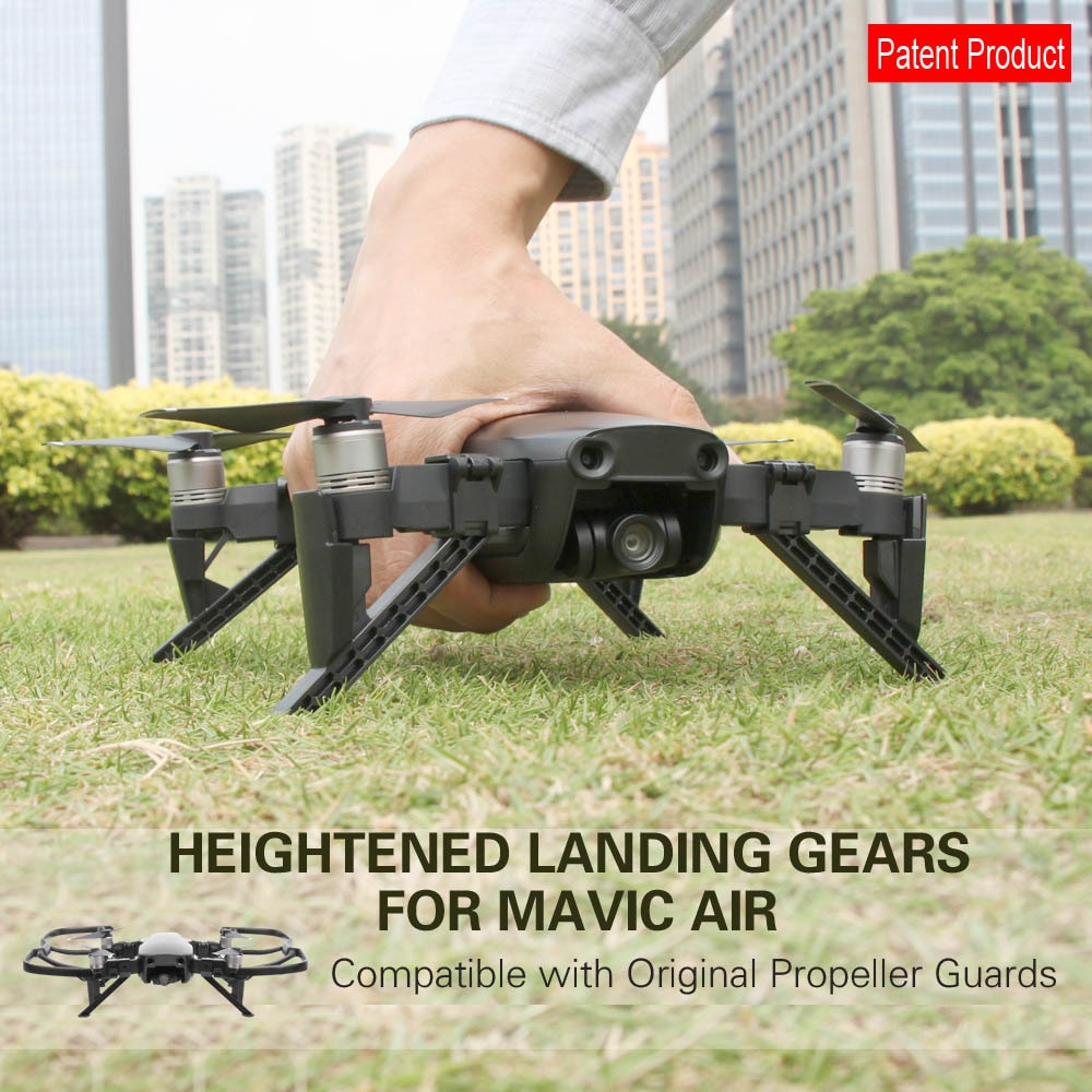 Nuevas extensiones de estabilizadores de engranajes de aterrizaje para DJI MAVIC accesorios de drones de aire