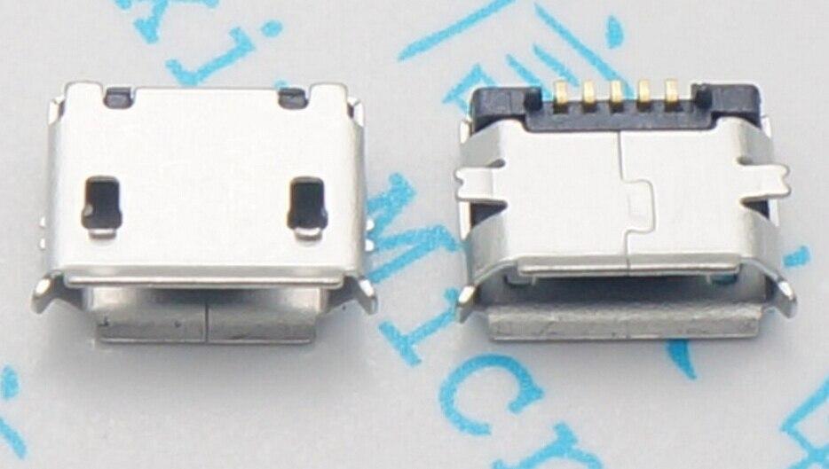 10 Uds micro USB hembra enchufe 5pin SMD aguja corta cobre datos puerto de carga MK5P Mini usb conector envío gratis