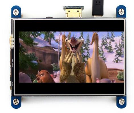 IPS 4,0 zoll SPI HDMI TFT LCD Resistiven Touchscreen XPT2046 Touch Controller 800*480 für Raspberry Pi/Raspbian/Ubuntu