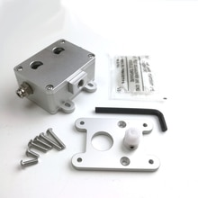Upgrade UM2 extruder kit dual wheel with POM gear feeder for Ultimaker 2+ extruder fit for 1.75mm 2.85mm 3mm filament