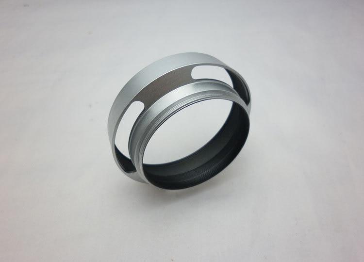 37mm 39mm 40,5mm 43mm 46mm 49mm 52mm 55mm 58mm Hueco del Metal de la Cubierta de la Capucha Oblicua Plata sombrilla PARA Leica Slr