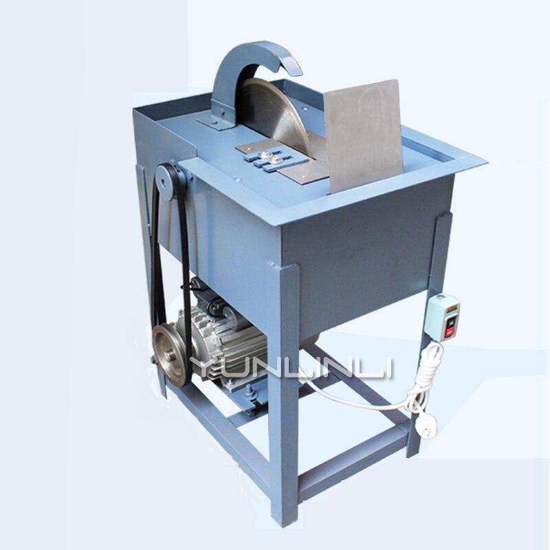 Jadestone Snijmachine Bench Type Water Snijmachine Voor Jade Agaat Steen Snijden 2200W 12 Inch