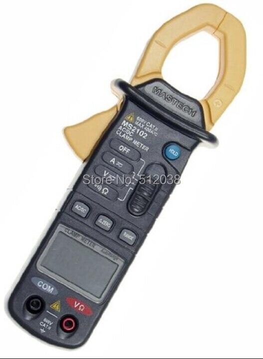 MS2102 400A Mini medidor de abrazadera AC/DC de alcance automático