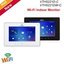 "Dahua Video Intercoms WiFi Indoor Monitor 7"" TFT Touch Screen for IPC surveillance Micro SD card optional Video Doorbell"