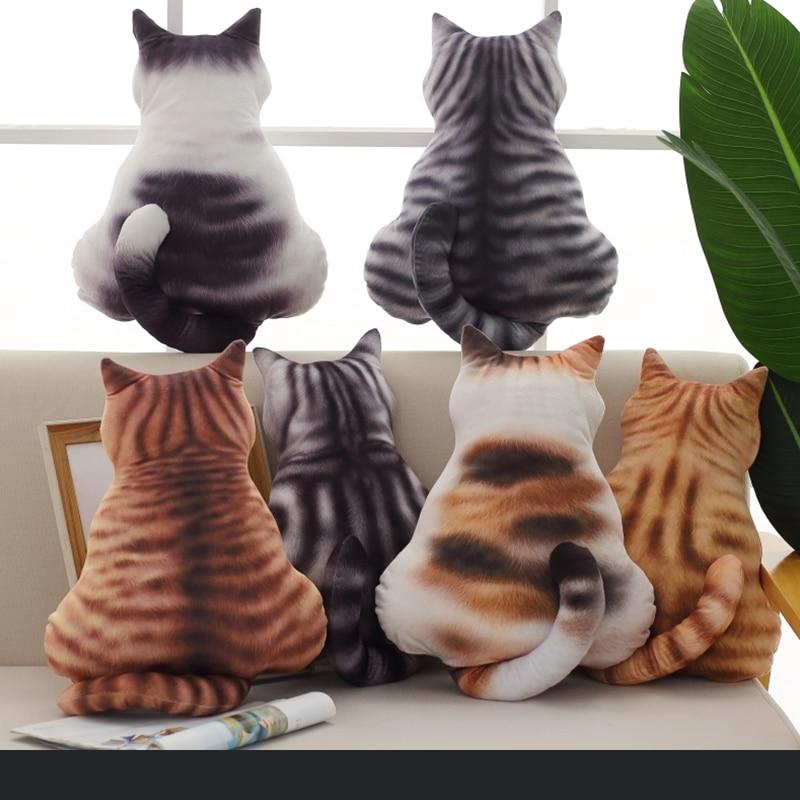 cute plush toy cat sofa pillow cushion kids sleeping pillow birthday gift