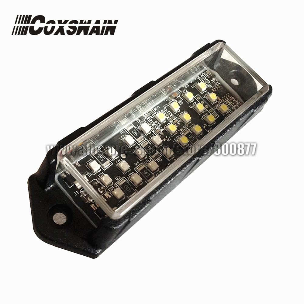 VS-958 سيارة أضواء تحذير خارجية LED شواء سطح جبل ضوء ، DC12V ، 21 نمط فلاش ، 24 المصابيح السوبر مشرق ، مقاوم للماء