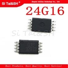 5 pcs/lot G16 24G16 24C16 MSOP-8 véritable écran LCD ultra-micro puce mémoire