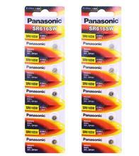 80 unids/lote Panasonic SR616SW pilas de botón de óxido de plata D321 321 GP321 1,55 V batería de moneda para reloj 6,8mm * 1,6mm