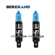 Ampoules halogènes 12V 55W   Pour voiture, xénon gaz 4300K Super, ampoules en verre de Quartz pour voitures Ford Honda 2 pièces