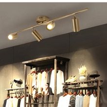 Golden Spotlight LED Ceiling Light Living Room Downlight Cafe Bar Clothing Store Surface Mounted AP4171614