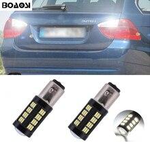 BOAOSI 2x1156 P21W LED Samsung 4014 Chip High Power Backup Reverse Licht Für BMW E30 E36 E46 F30