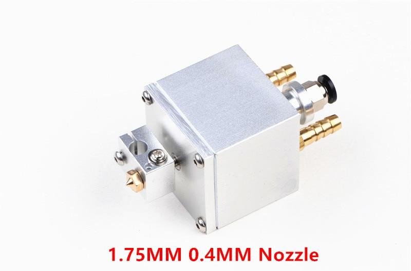 المياه المبردة V6 hotend البثق كيت 1.75 مللي متر 0.4 مللي متر عالية درجة الحرارة الطباعة الطارد ل DIY Prusa 3D طابعة