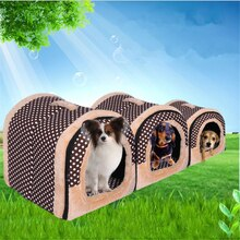 Huisdier Kat Iglo Bed Kleine Hond Zacht Bed Ontmoette Huis Waterdichte Bedekt 1 PC (S, M, l)