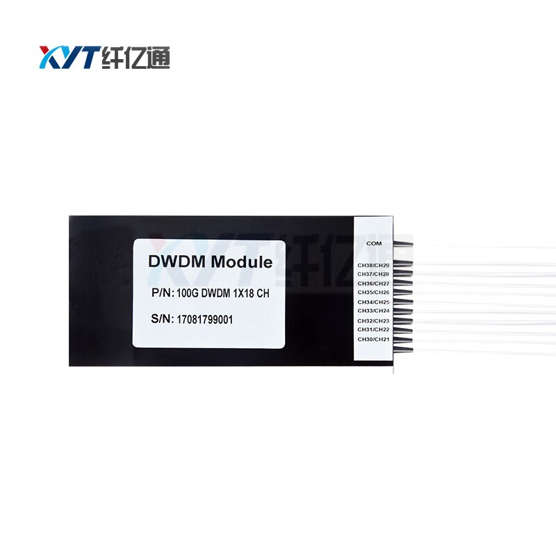 best selling ABS box type dwdm module 100G 18 channel DWDM mux demux C21-C60 manufactory customized