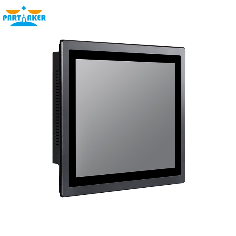 All in one pc 15 inch touch screen industrial tablet pc IP65 Intel core i7 4510U 4600U dustproof and waterproof for Kiosk enlarge