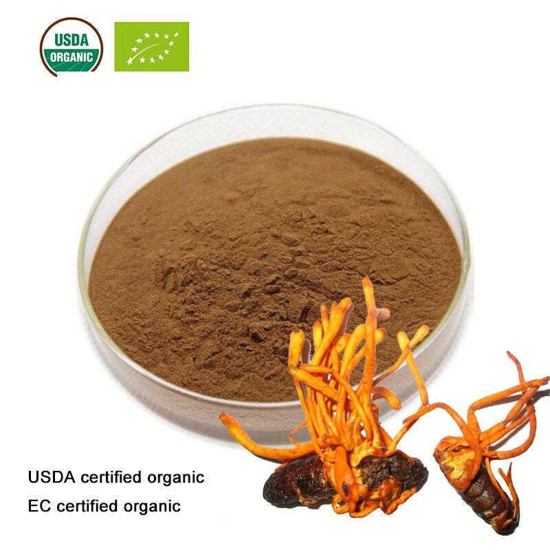 USDA and EC Certified Organic  Cordyceps militaris extract 10:1