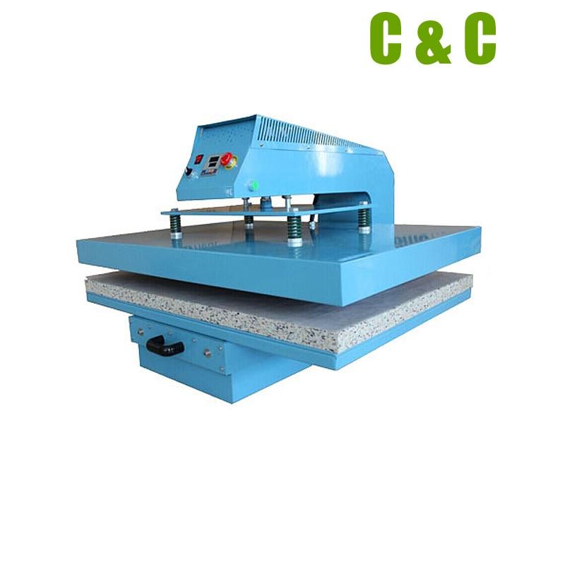 """Máquina de prensado en caliente para cajón neumático con control de aire, nuevo modelo n. ° FZLCB5NEW 40cm x 50cm(16 """"x 20"""")"""