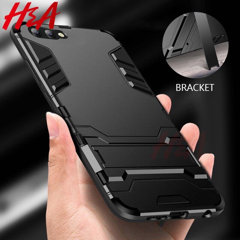 Funda H & A de lujo para Huawei Honor 10 Lite A prueba de golpes para Huawei Honor 9 Lite