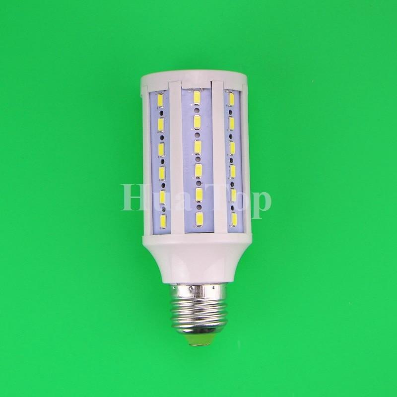 Lampada AC110v/220V 15W led lamp E27 epistar chip 5730/5630 SMD 60 Leds Cool White/Warm white chandelier Bulb Corn Free delivery