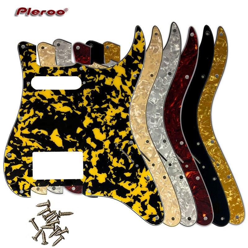Запчасти для электрогитары США  Мексика Fd Stratocaster 11 отверстий HS PAF Humbucker гитарная Защита от царапин